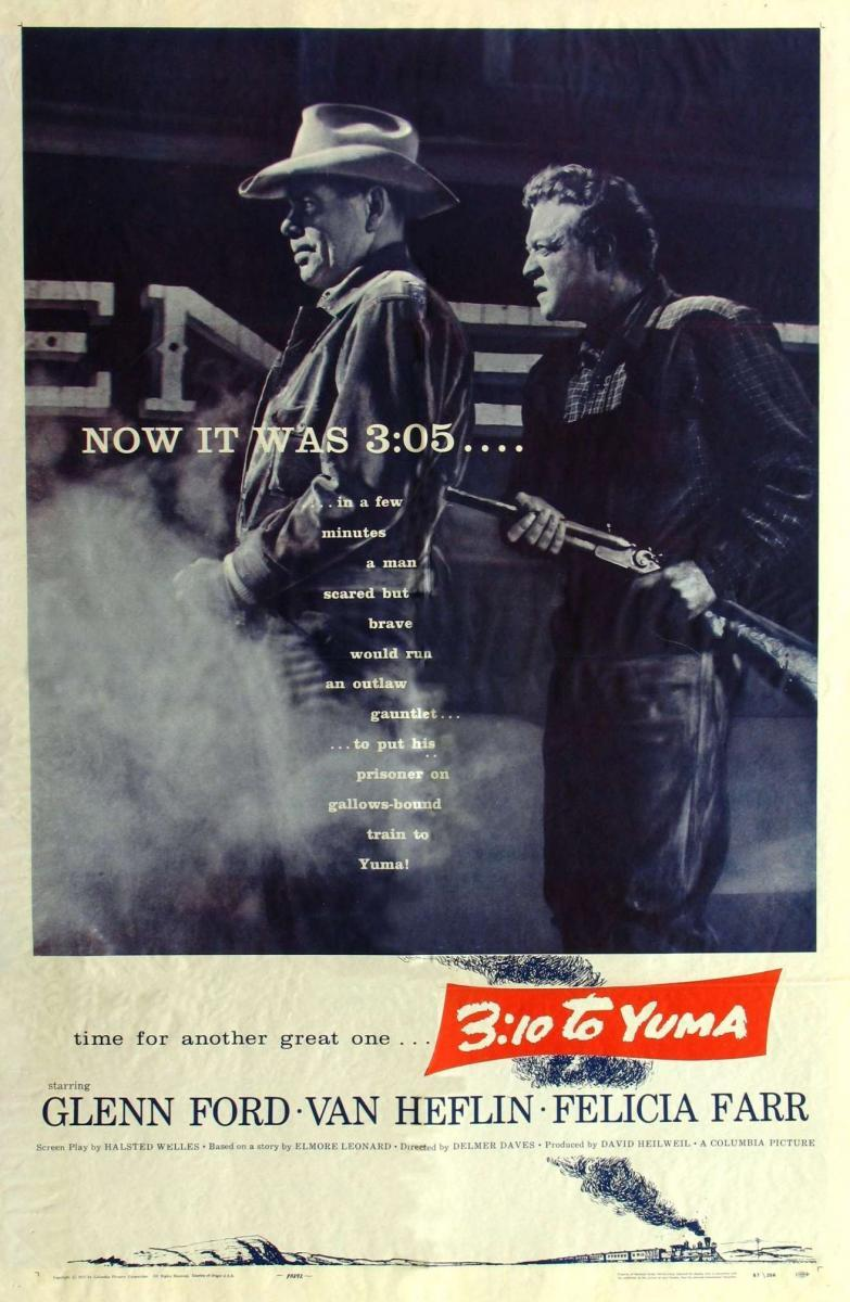 310 To Yuma 1957 NR CC  310 To Yuma is a stark monochrome Western that has been praised for its suspense and high  but 310 has somehow been