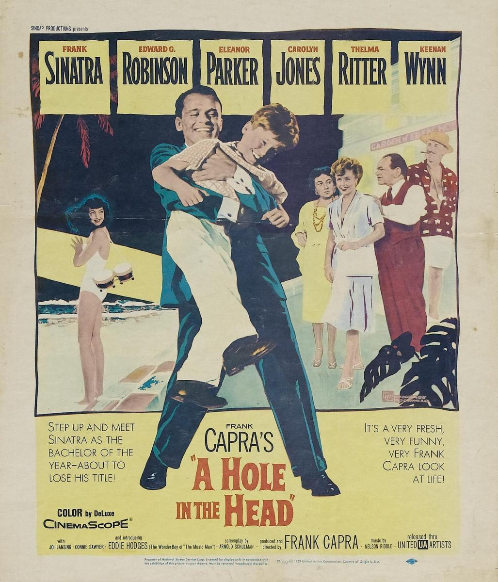 Дыра в голове / a hole in the head / 1959 / bdrip