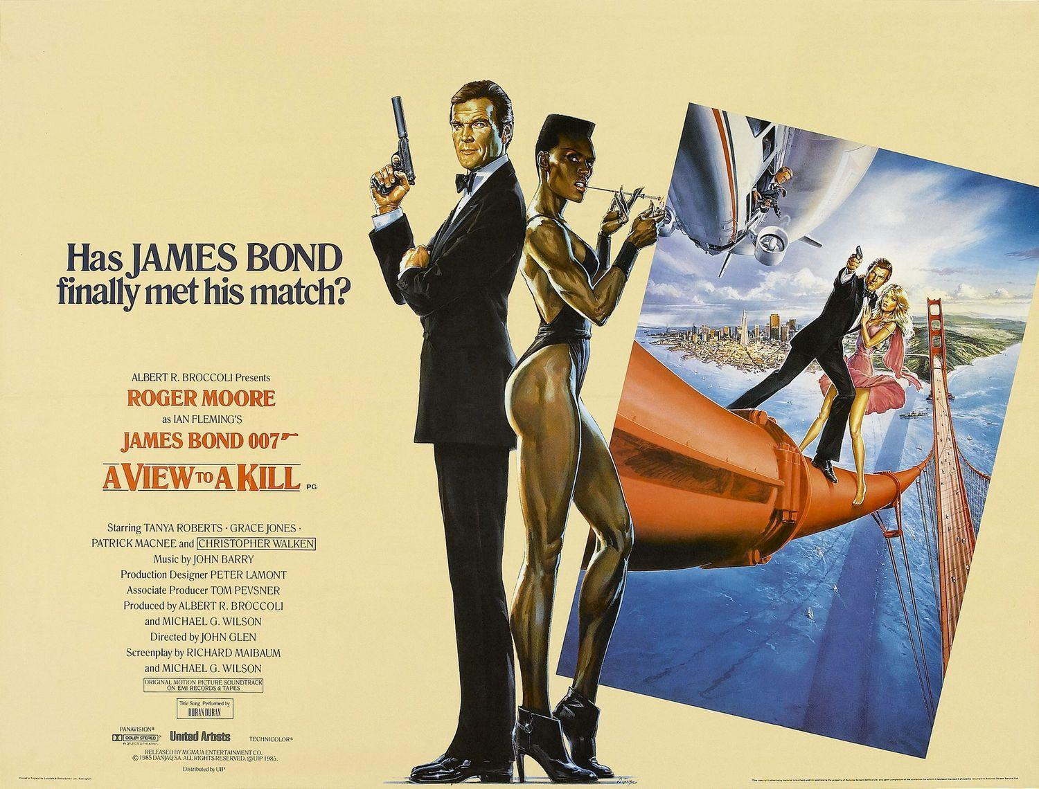james bond 007 a view to a kill 1985