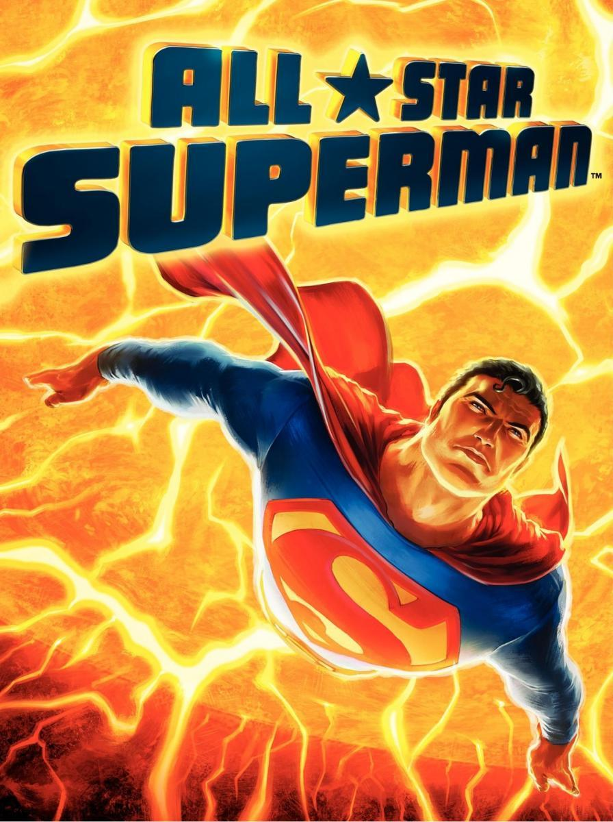 Caratula - All Star Superman (Superman viaja al sol)
