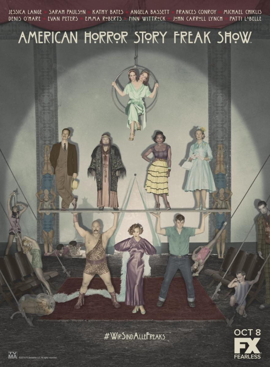 American Horror Story: Freak Show.T.4� [Web-Dl 1080p][Dual+subt][2 Gb][ ZIPPY-UP-TF]