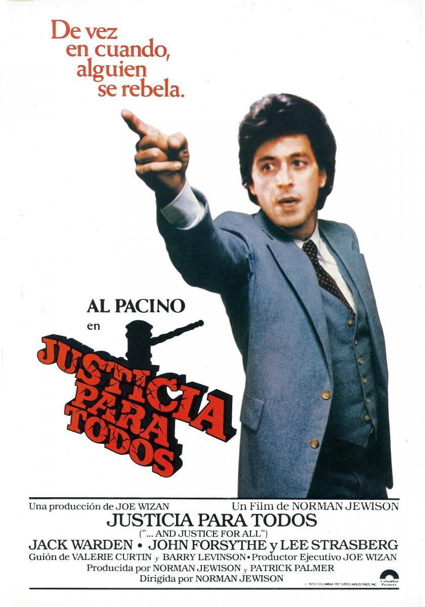 Image Gallery for ...And Justice for All - FilmAffinity