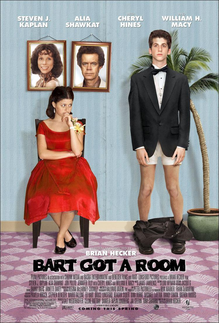 Caratula - Bart Got a Room