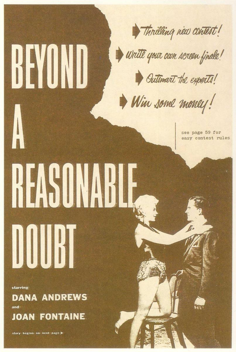 """beyond reasonable doubt essay If the court truly regards the """"proof beyond a reasonable doubt"""" standard   criminal law: an essay in legal epistemology (2006) [hereinafter."""