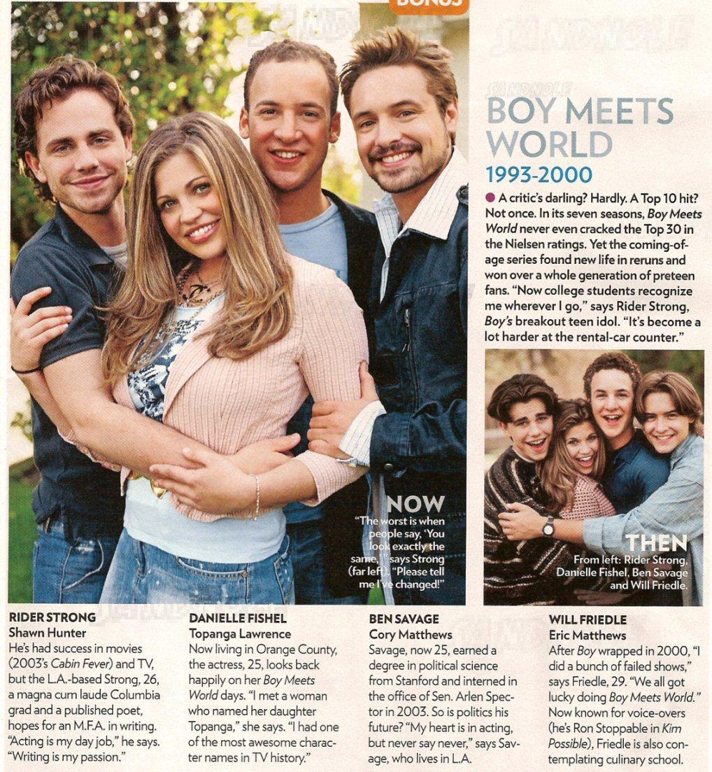 meets world tv series go to trailer for boy meets world tv seriesBoy Meets World Reunion Topanga