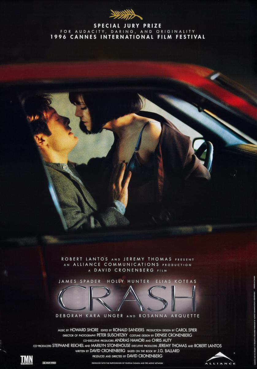 Crash 1996 - David Cronenberg [MP4]