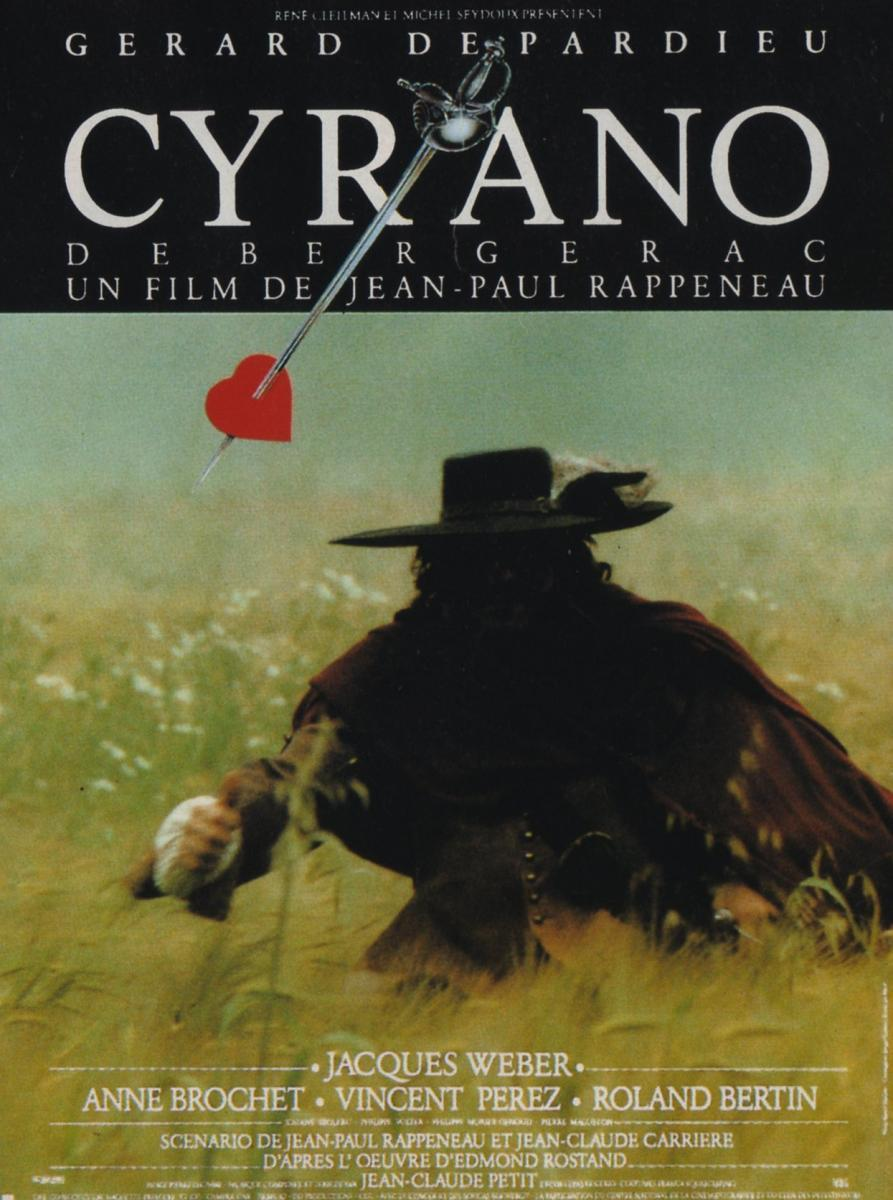 cyrano de bergerac With gérard depardieu, anne brochet, vincent perez, jacques weber a dashing officer of the guard and romantic poet, cyrano de bergerac is in love with his cousin.