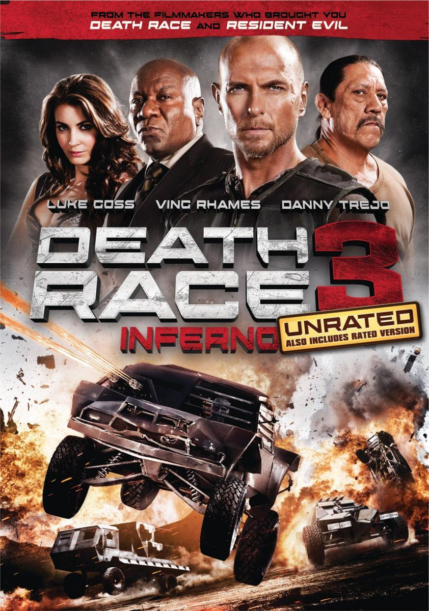 Caratula - Death Race: Inferno