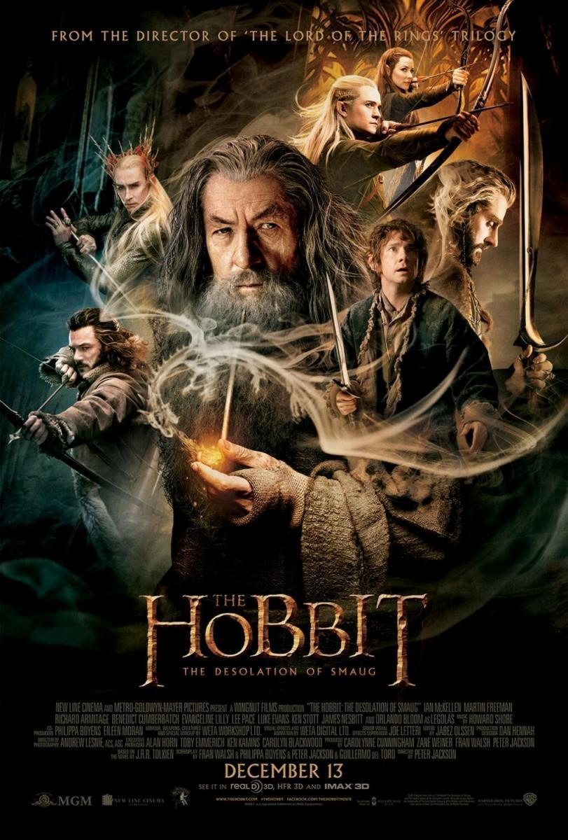El Hobbit La desolacion de Smaug 498845622 large The Hobbit 2 [2013] [BRScreener 720p] [Latino]