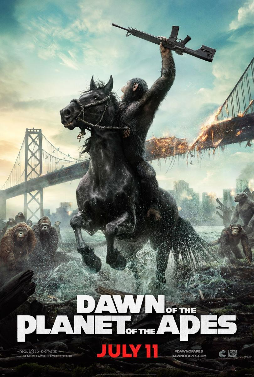 Dawn of the Planet of the Apes Online (2014) El amanecer del planeta de los simios