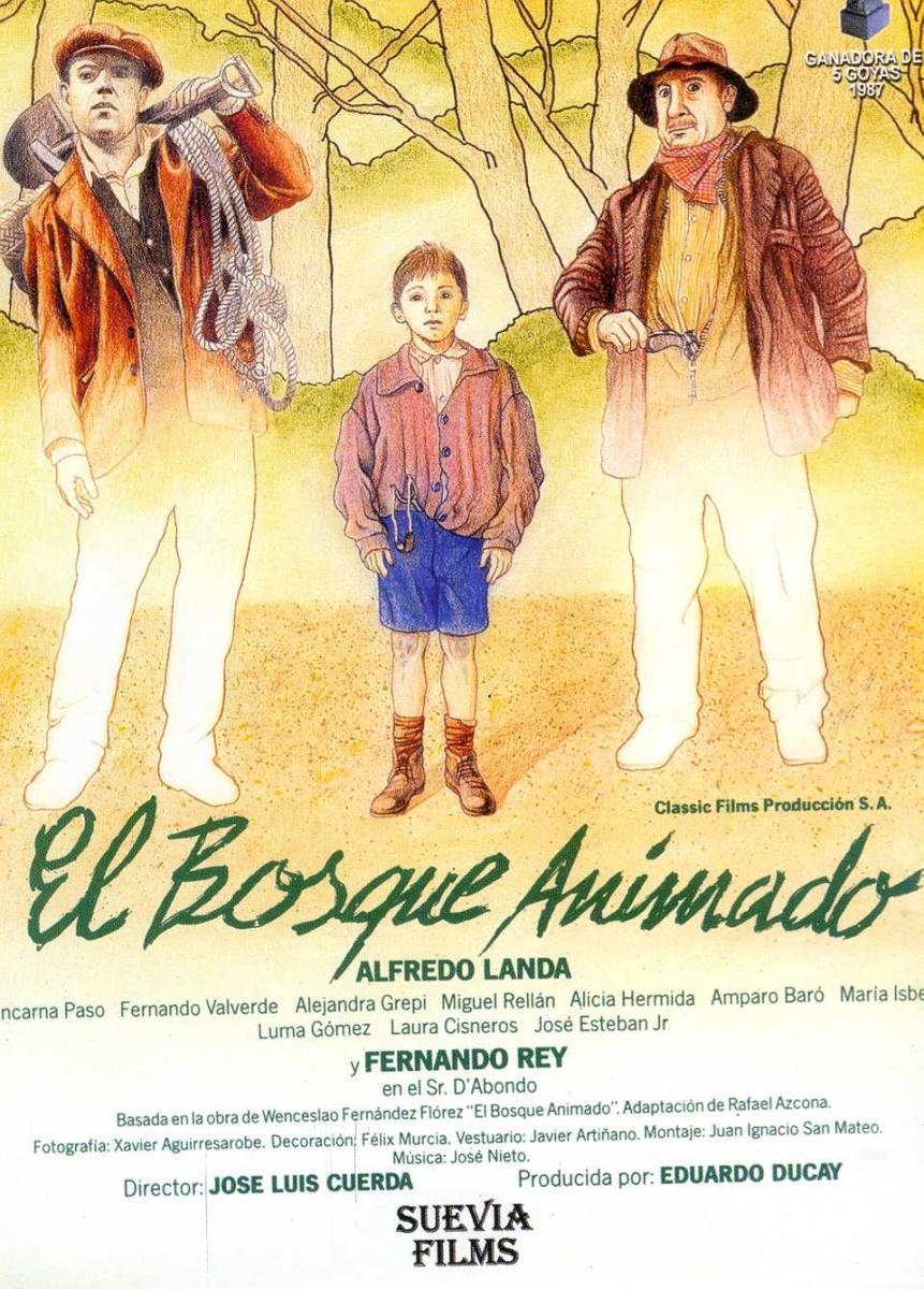 El bosque animado movie