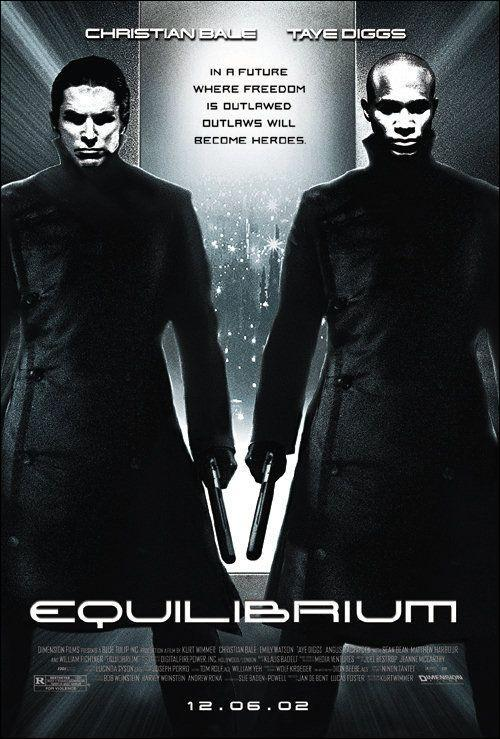 critica de cine blog SOLO YO, película, crítica, distopia, cine, equilibrium,Christian Bale, Taye Diggs, Emily Watson, Angus MacFadyen, William Fichtner, Sean Bean, Sean Pertwee, Dominic Purcell, Matthew Harbour, John Keogh, David Hemmings, Kurt Wimmer