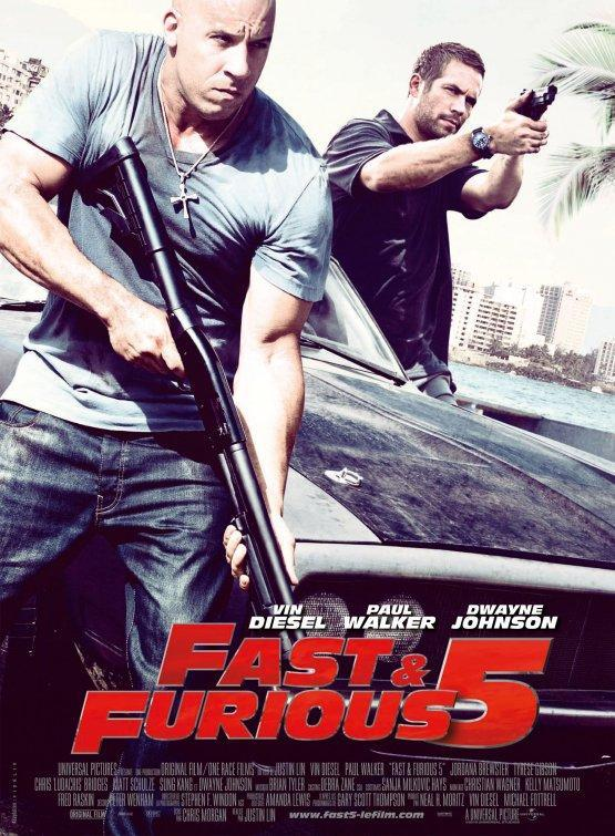 fast five fast and furious 5. Fast Five (The Fast and the