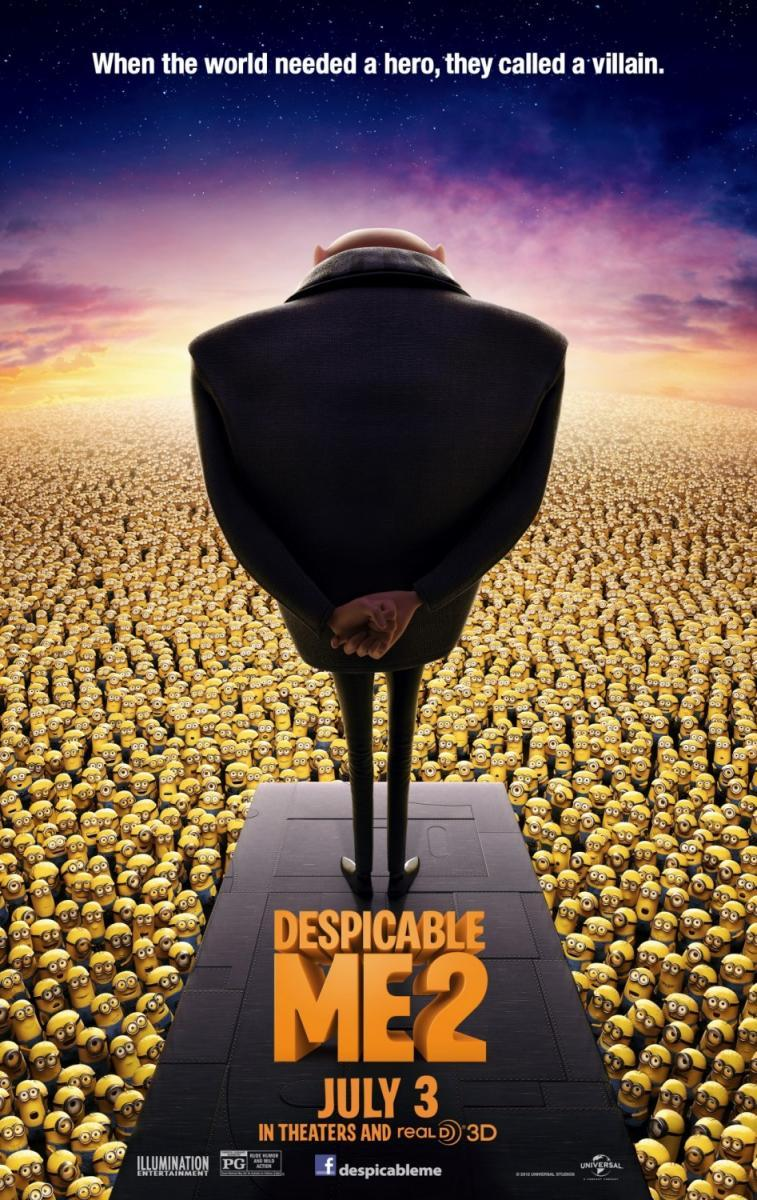 Gru 2, mi villano favorito [2013][TS Screener][Latino] (peliculas hd )