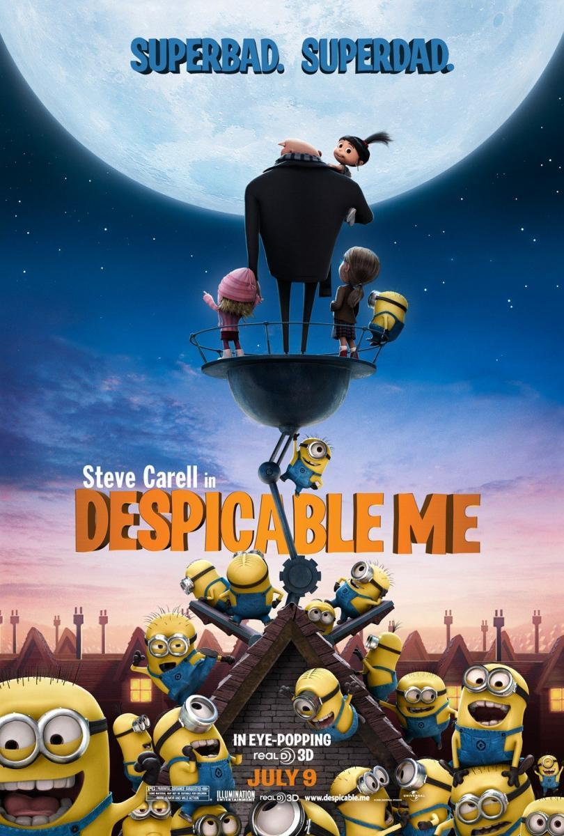 Gru mi villano favorito 886797392 large Gru, Mi villano favorito [2010] [BRRIp 720p] [Latino AC3]