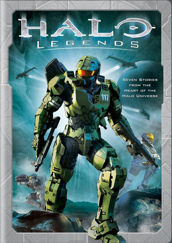 Visual de halo legends ir a la sección de trailers de halo legends