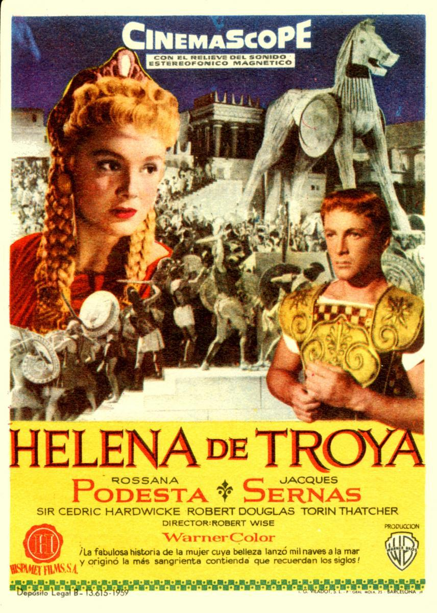 movie review helen of troy Troy movie review agamemnon had recently united all of the greek city-states and wanted to take over troy too, so this conflict over helen was his.