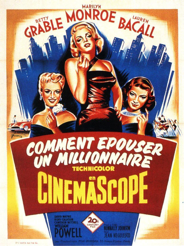 Image gallery for how to marry a millionaire filmaffinity - Comment coller un poster mural ...