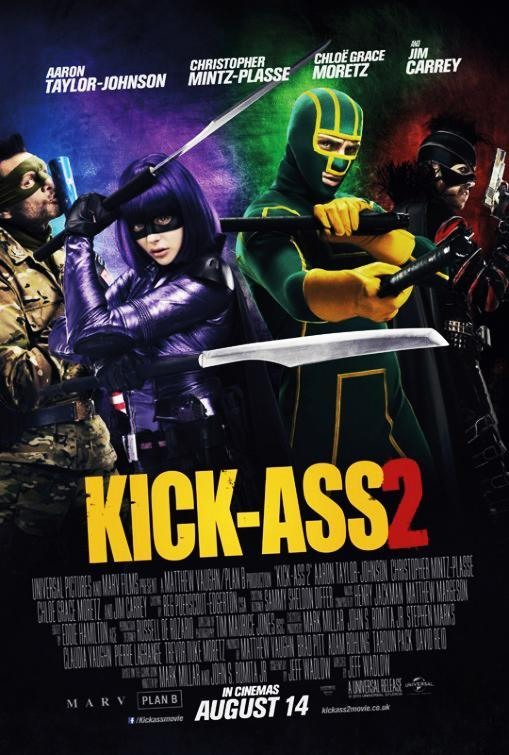 Kick Ass 2 – Dvd9 – Latino