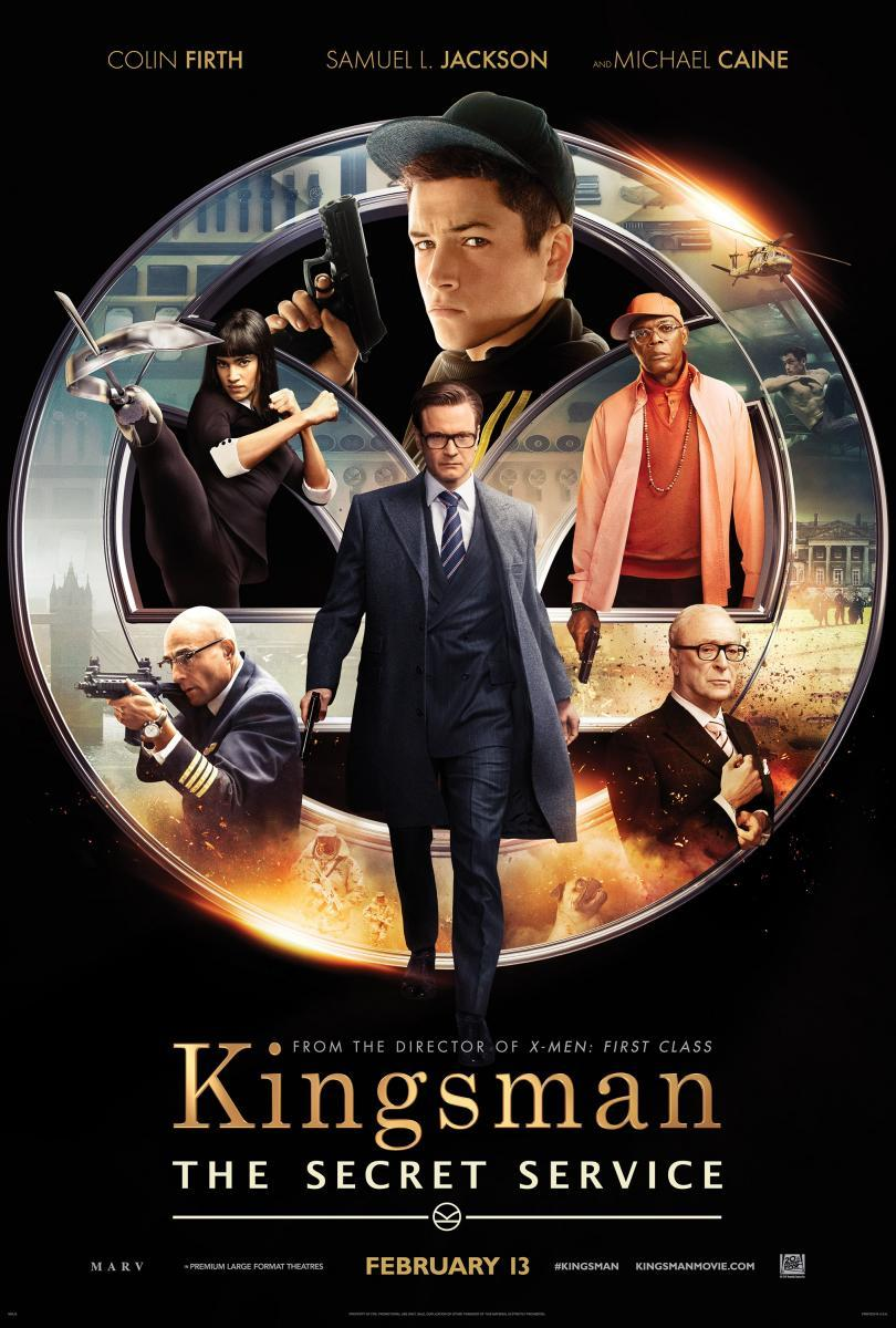 Kingsman. The Secret Service , película, cine, cartel, comica, espionaje, acción, comic,