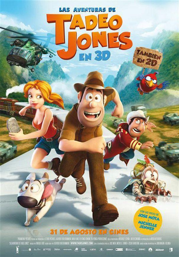 Pelicula Las aventuras de Tadeo Jones