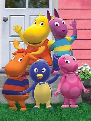 Los amiguitos del jard n the backyardigans serie de tv for Amiguitos del jardin
