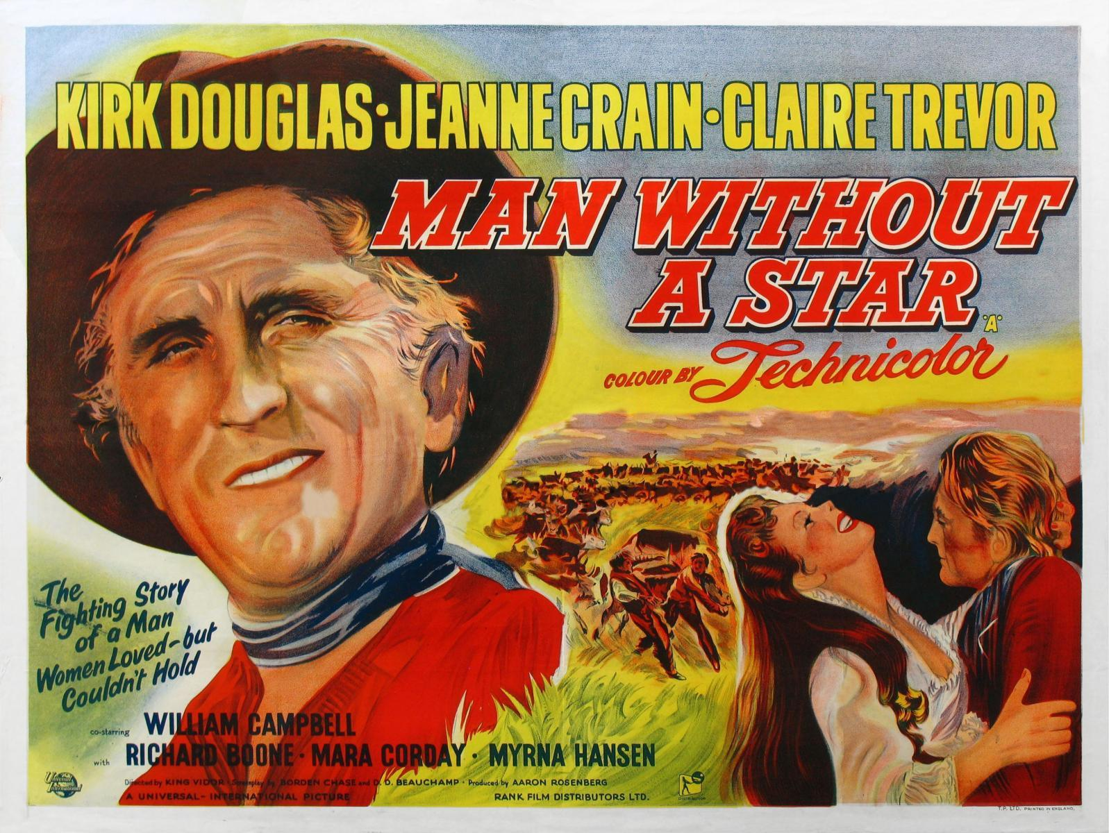 Poster for Man Without A Star (Courtesy FilmAffinity.Com)