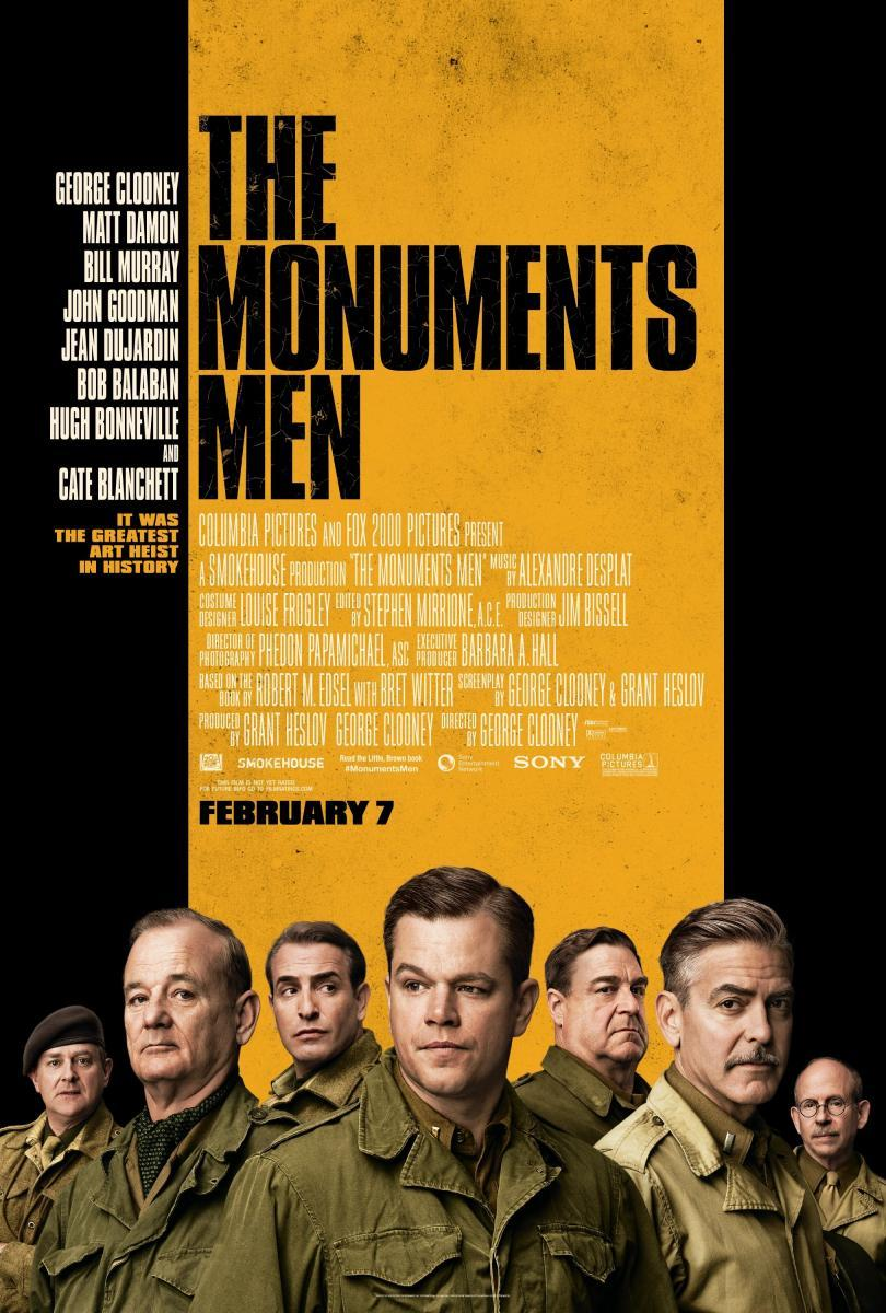 Monuments Men 681632116 large Moments Men [2014] [Ts Screener] [Latino]