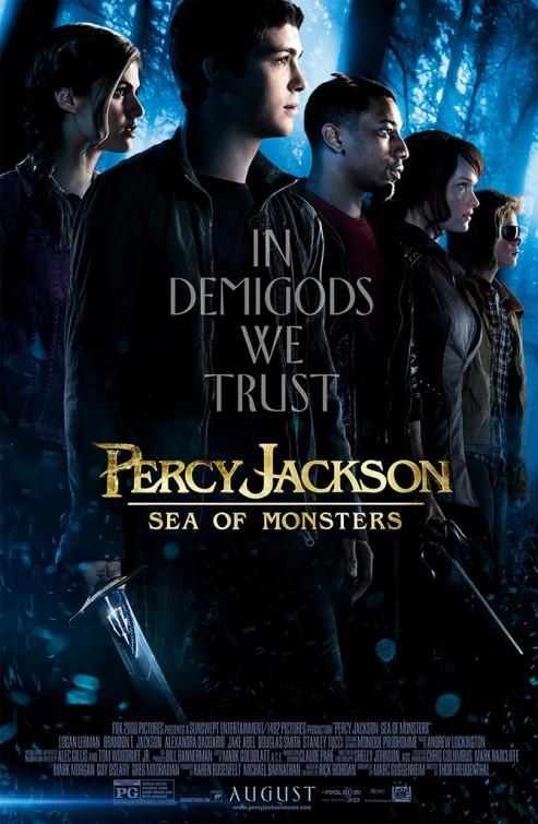 Percy Jackson: Sea of Monsters [DVD9][Latino]