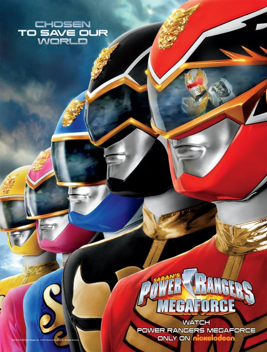 Capitulos de: Power Rangers: Megaforce