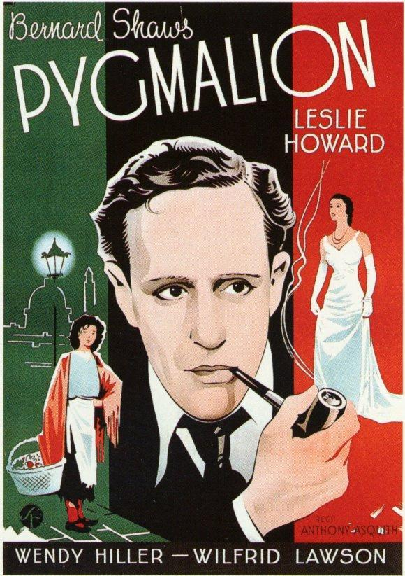 a comparison of pygmalion by g b shaw and the film my fair lady My fair lady pygmalion compare comparing pygmalion and my fair lady viewers often find contrasts in certain areas of the film george bernard shaw.