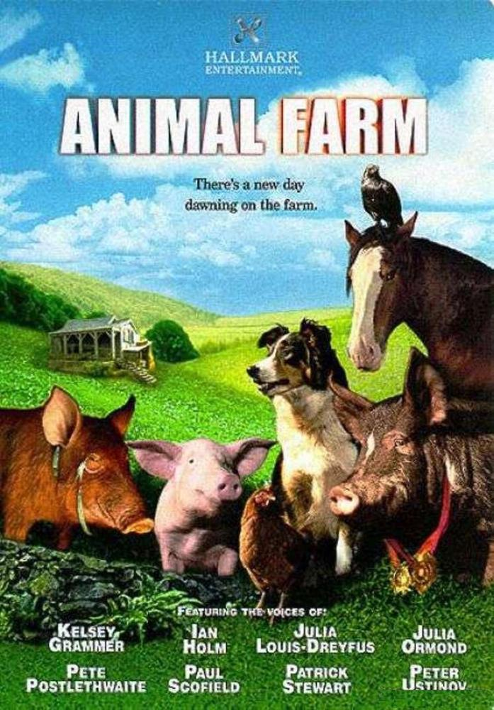 animal farm movie Directed by john stephenson with kelsey grammer, ian holm, julia louis-dreyfus, julia ormond the animals of a farm successfully revolt against its human owner, only.