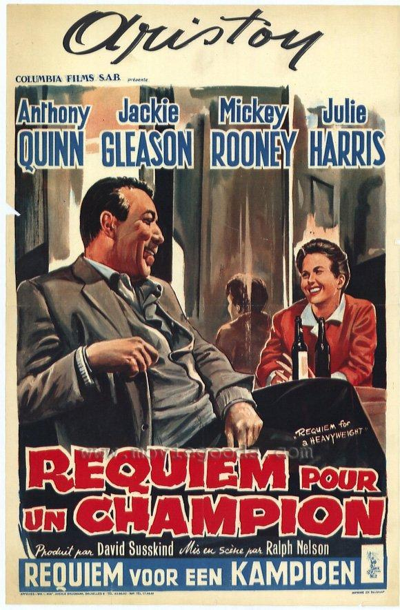a review of requiem for a heavyweight a film by ralph nelson Requiem for a heavyweight on dvd (043396083387) from sony pictures home entertainment directed by ralph nelson staring julie harris, jackie gleason, anthony quinn and mickey rooney review requiem for a heavyweight film rating (slide to set rating) 1 5.