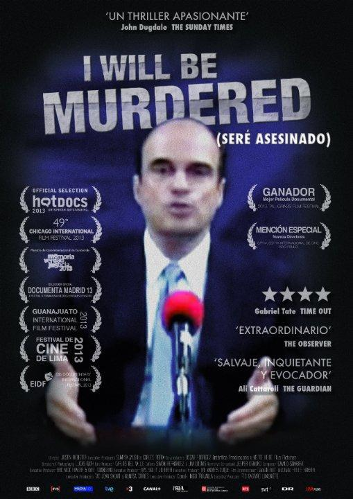Cartel documental Seré asesinado