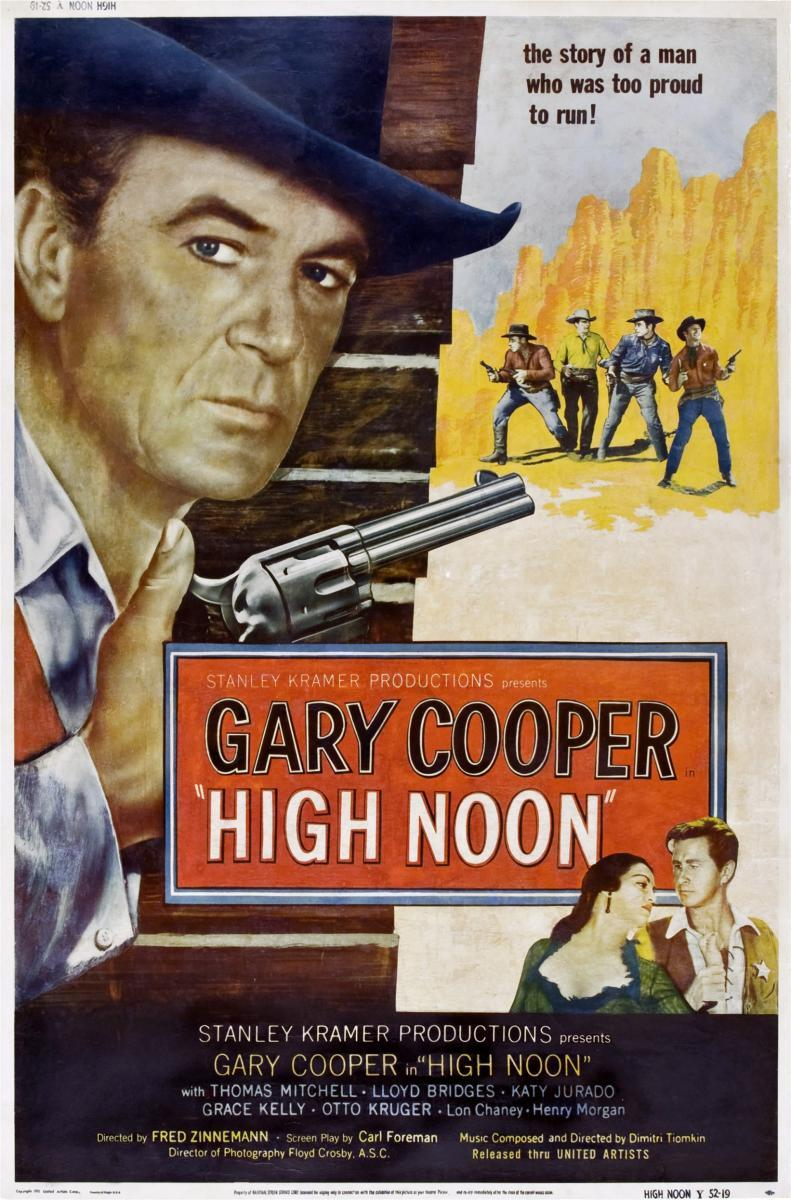 essay on high noon movie High noon did not became a classic western flick because it exemplifies the conventions of western movies indeed, the constant action, horse visual storytelling: high noon friday, aug 22 2008 focused essay and narrative analysis and symbolism analysis and western high noon.