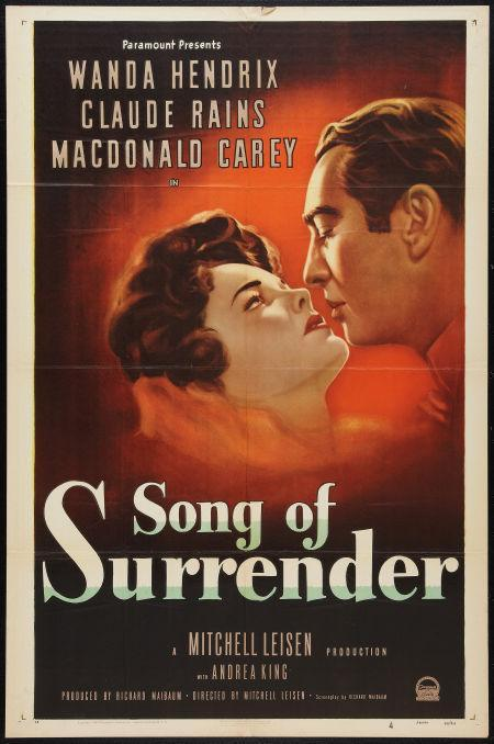 Song of Surrender movie