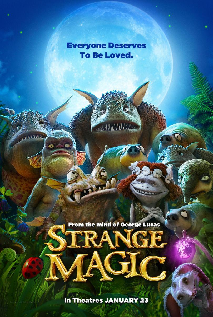 Strange Magic [DVDRip] [Castellano] [Animación] [2015]