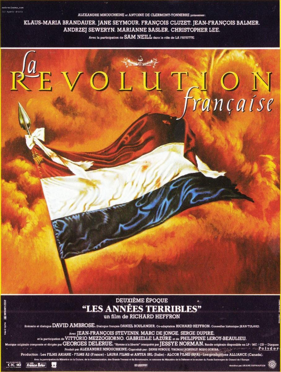 Image gallery for the french revolution filmaffinity for Poster revolution france
