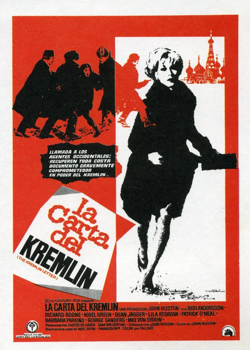 Image Gallery for The Kremlin Letter - FilmAffinity