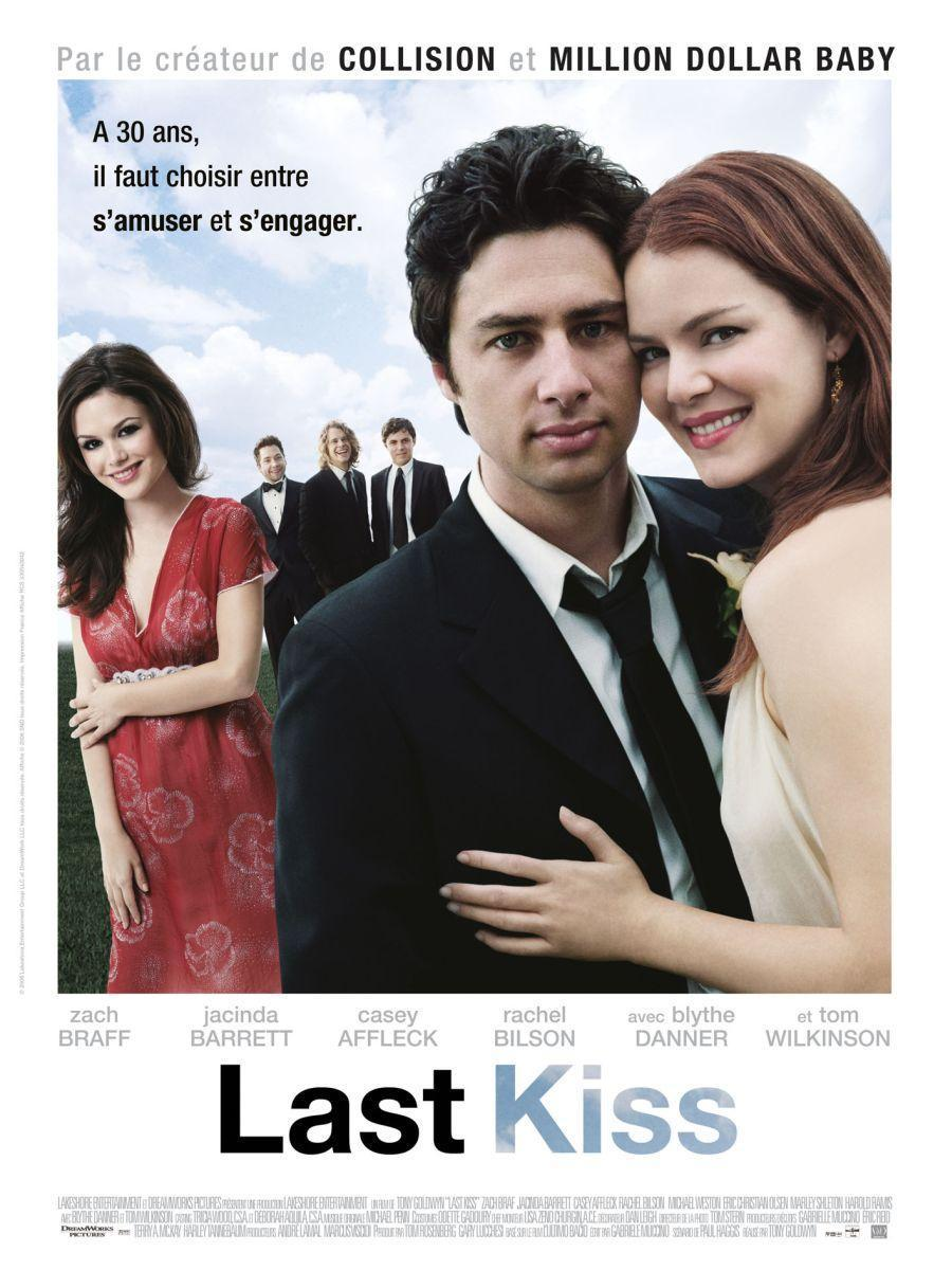 The last kiss movie poster