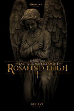 The last will and testament of Rosalind Leigh (Terror) VOSE {2012}