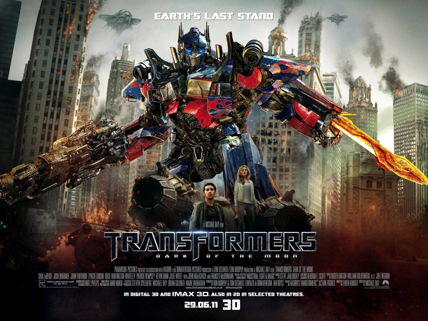 Transformers: Dark of the Moon (Transformers 3) - Wallpapers