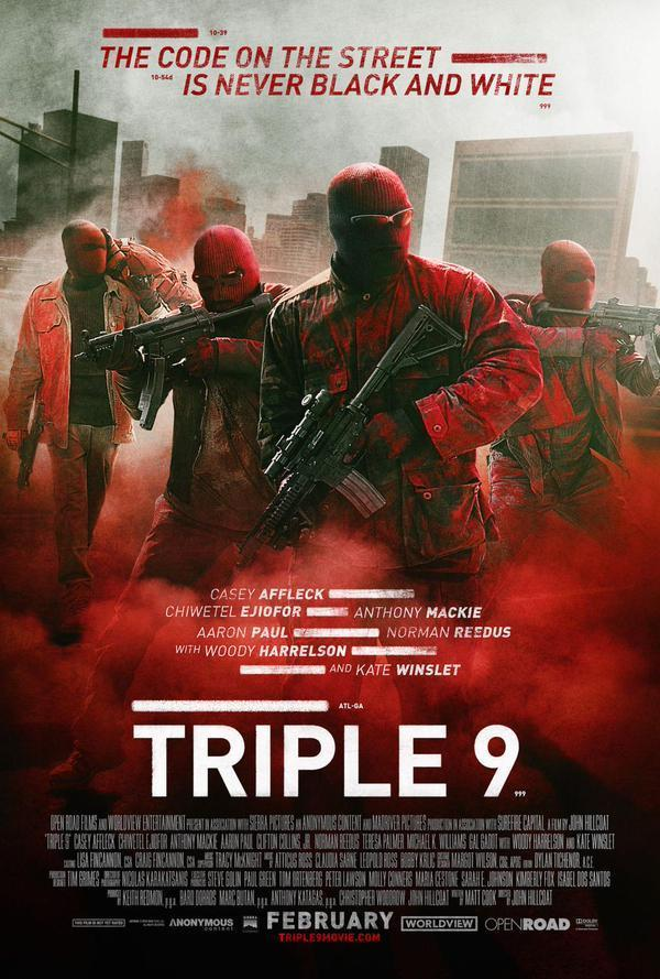 Triple 9 (2016)(Audio Latino)(HD 720p-Online)
