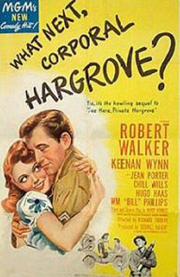 What Next, Corporal Hargrove? movie