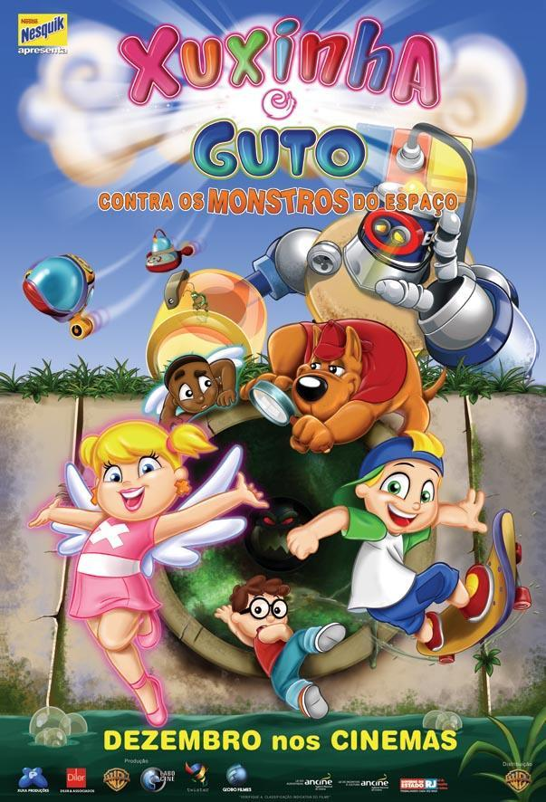 Xuxinha and Guto Against the Space Monsters movie