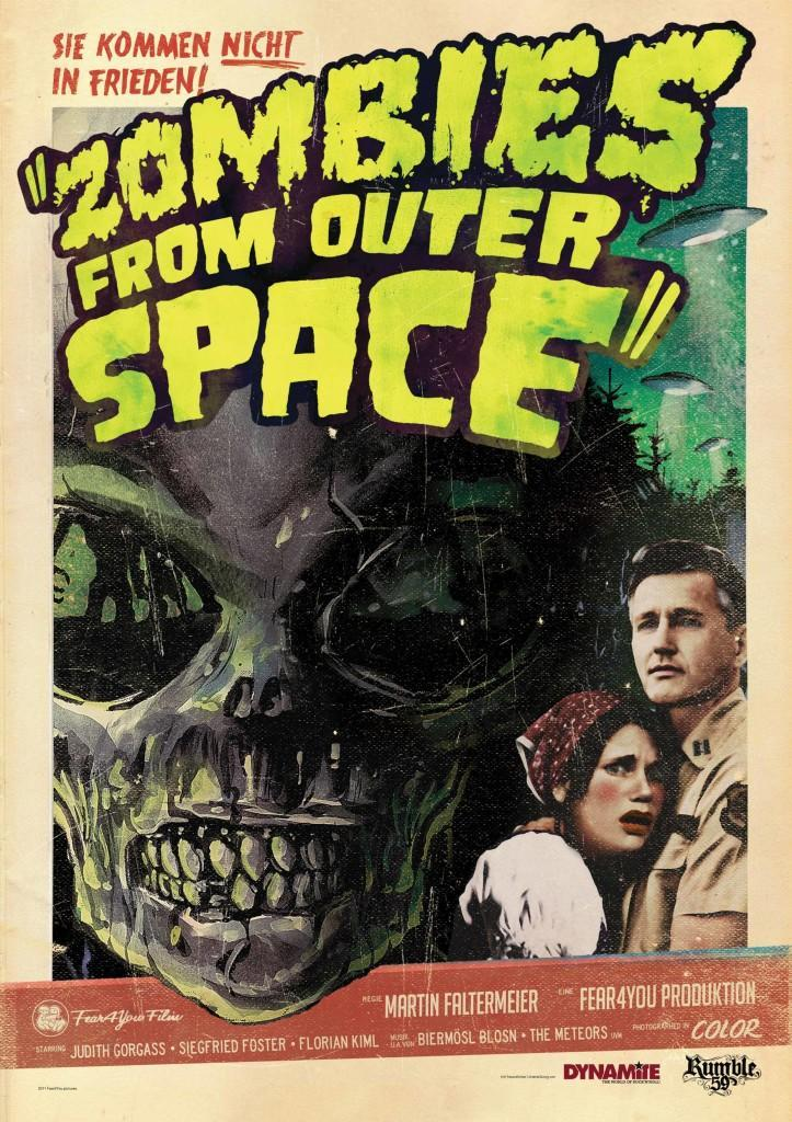Pelicula Ver Zombies from Outer Space (2012) Online
