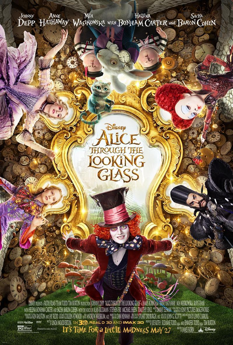 Alice Through the Looking Glass (2016)(Subtitulado)(HD720p-Online)