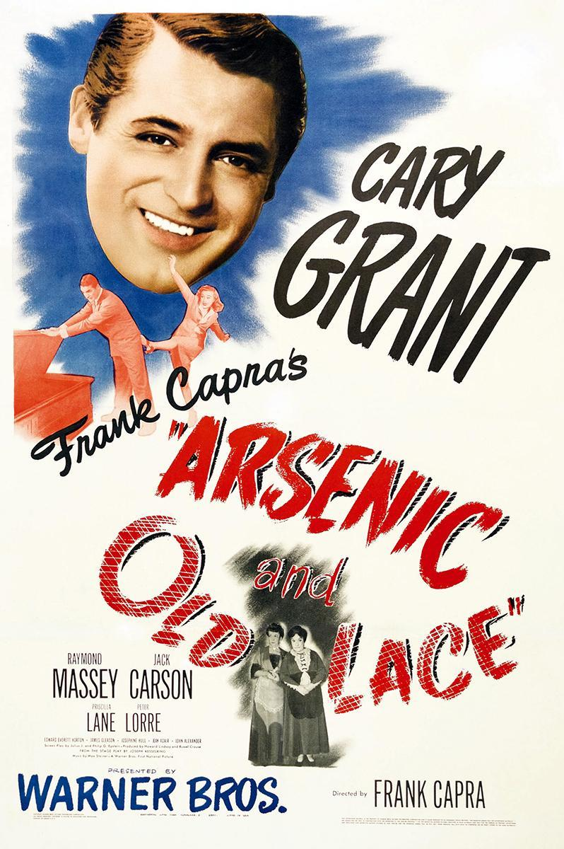 murder and insanity in the movie arsenic and old lace Casey audrain grew up watching old movies with her parents a favorite was arsenic and old lace, starring cary grant as mortimer brewster, the nephew of two aunts who are poisoning lonely old.