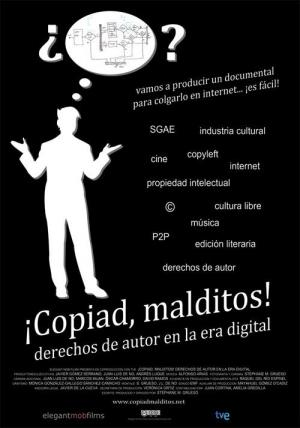 ¡Copiad, malditos!