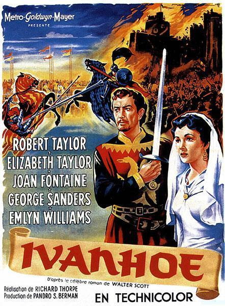 Image result for IVANHOE 1952 movie